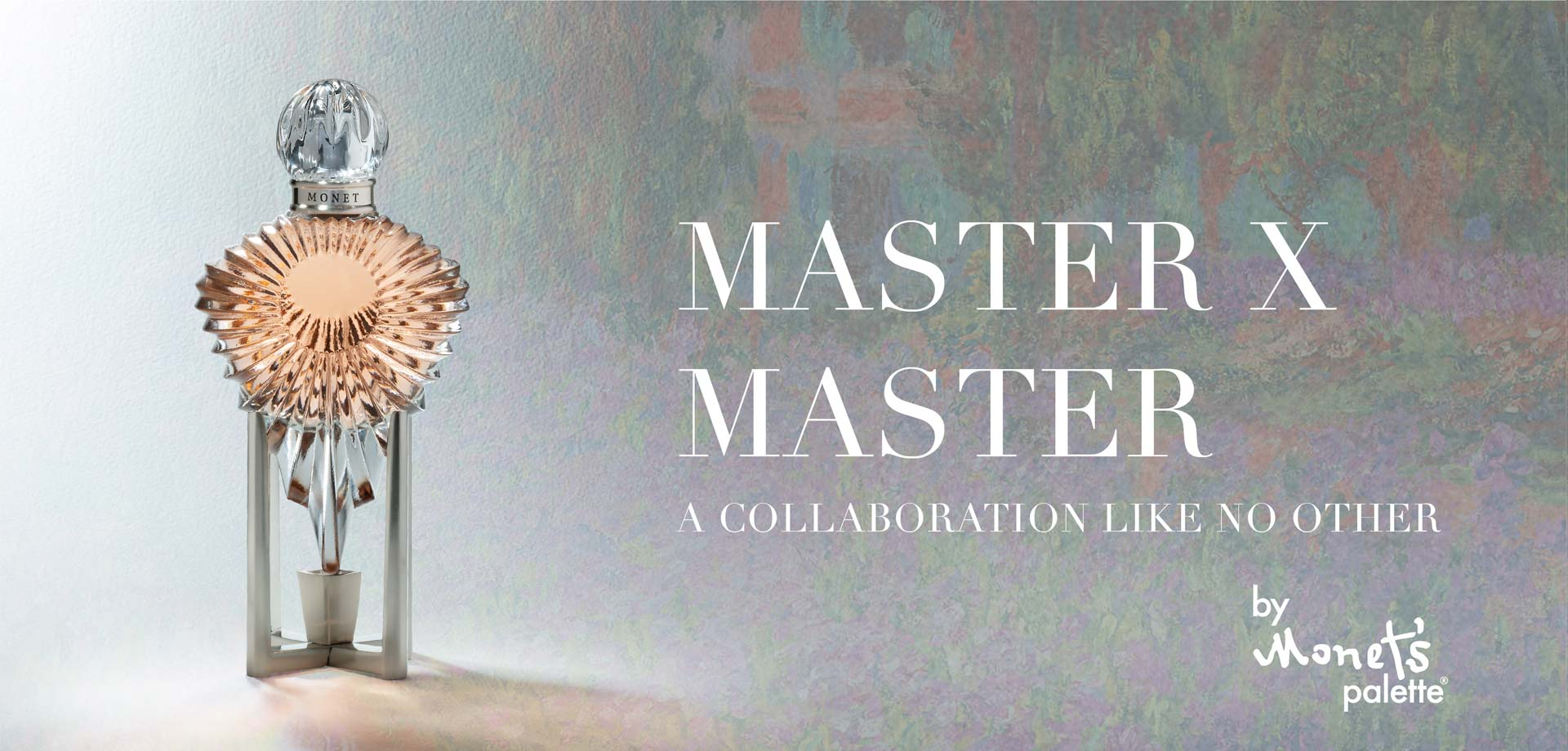 Master X Master, A collaboration like no other, by Monet's Palette
