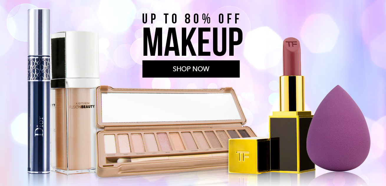 Up to 80% Off Makeup, shop now