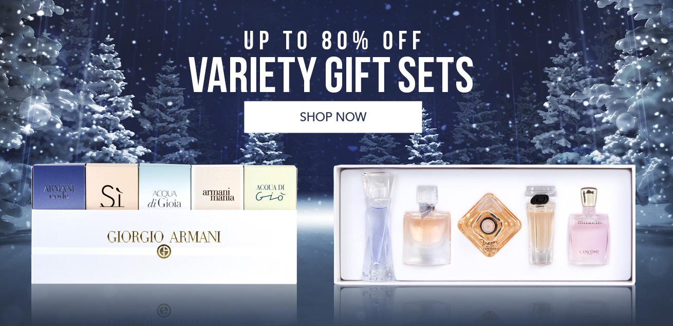 Up to 80% off variety gift sets, shop now