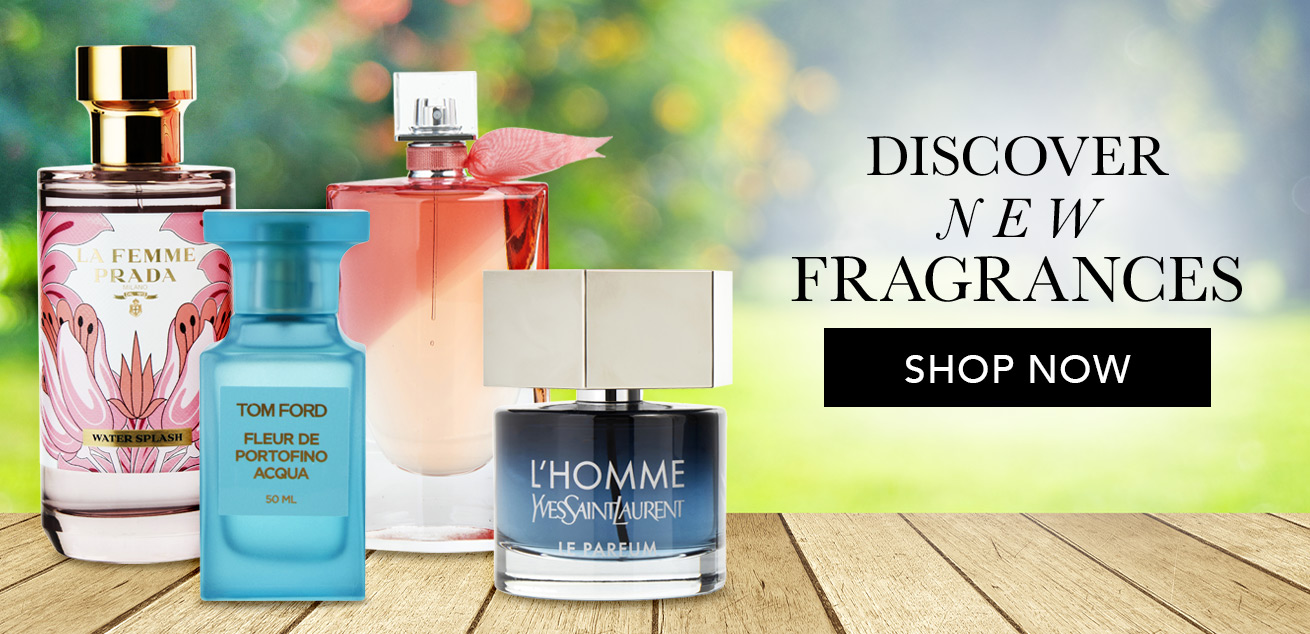 Discover new fragrances, shop now