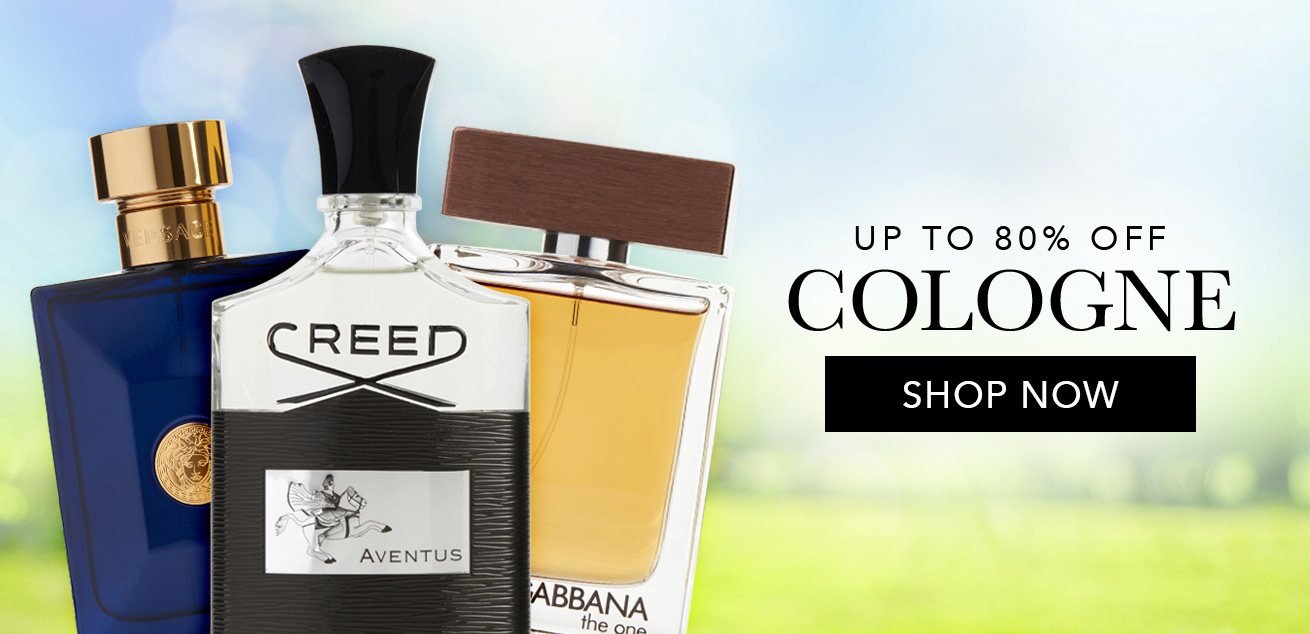 up to 80% off cologne, shop now
