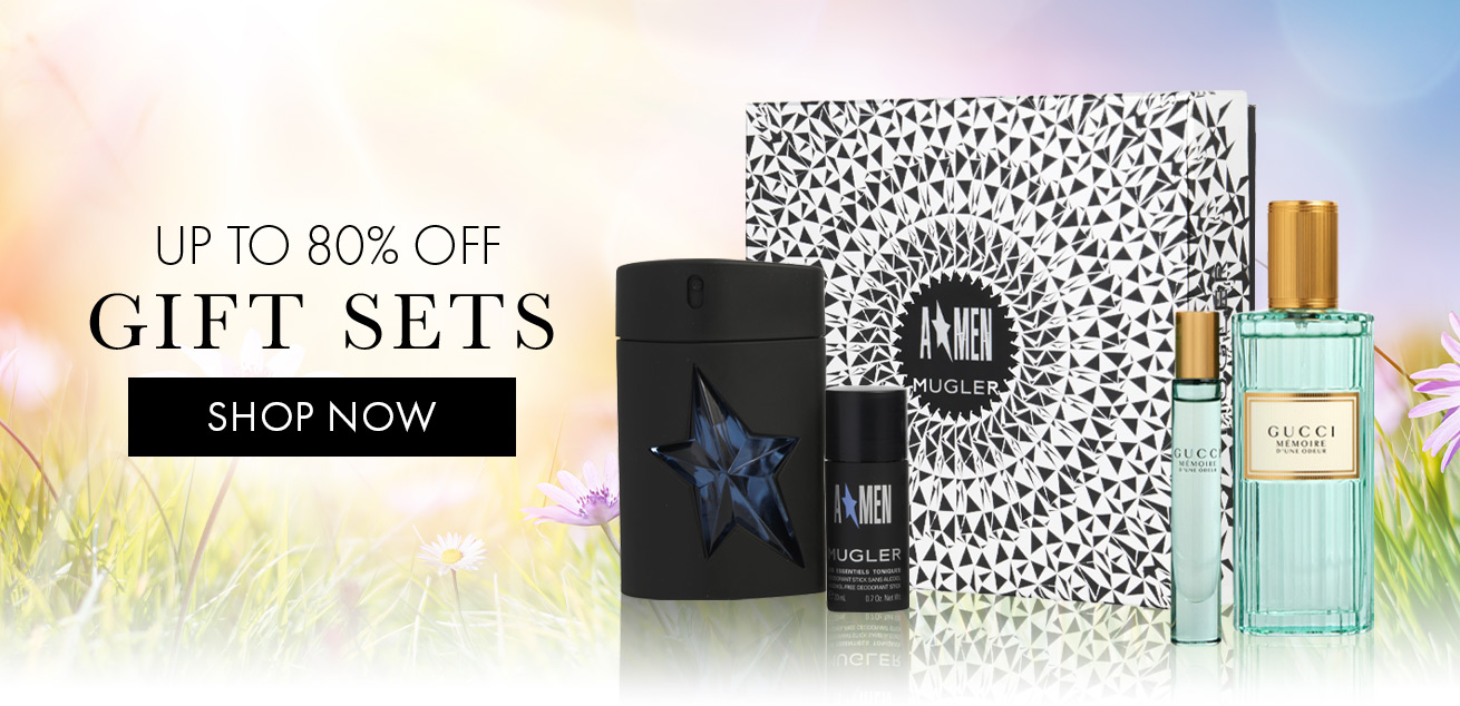 up to 80% off gift sets, shop now