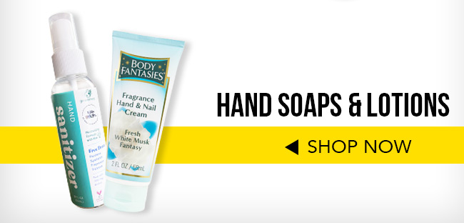 Hand Soaps & Lotions. Shop Now