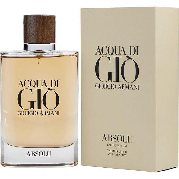 am besten einkaufen das billigste herausragende Eigenschaften Acqua Di Gio Absolu Eau De Parfum Spray 2.5 oz