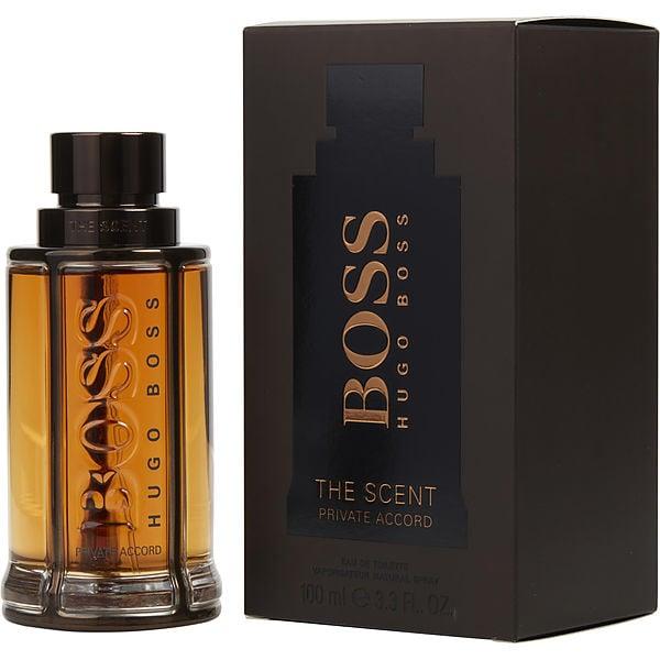 Boss The Scent Private Accord   Eau De Toilette Spray 3.3 Oz by Hugo Boss