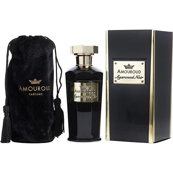Amouroud Agarwood Noir Eau De Parfum Spray 3 4 oz