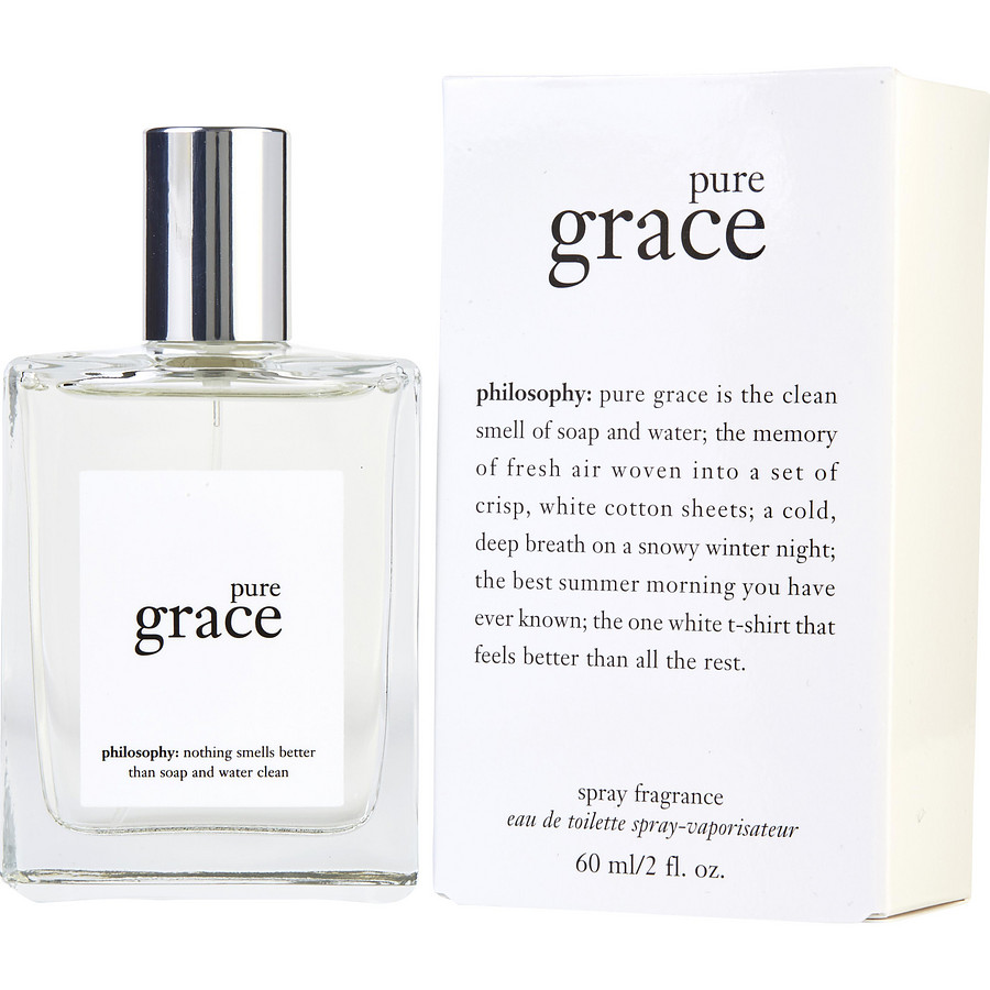 Philosophy Pure Grace clean smelling perfume like soap clean shower fresh perfume what perfume smells like soap