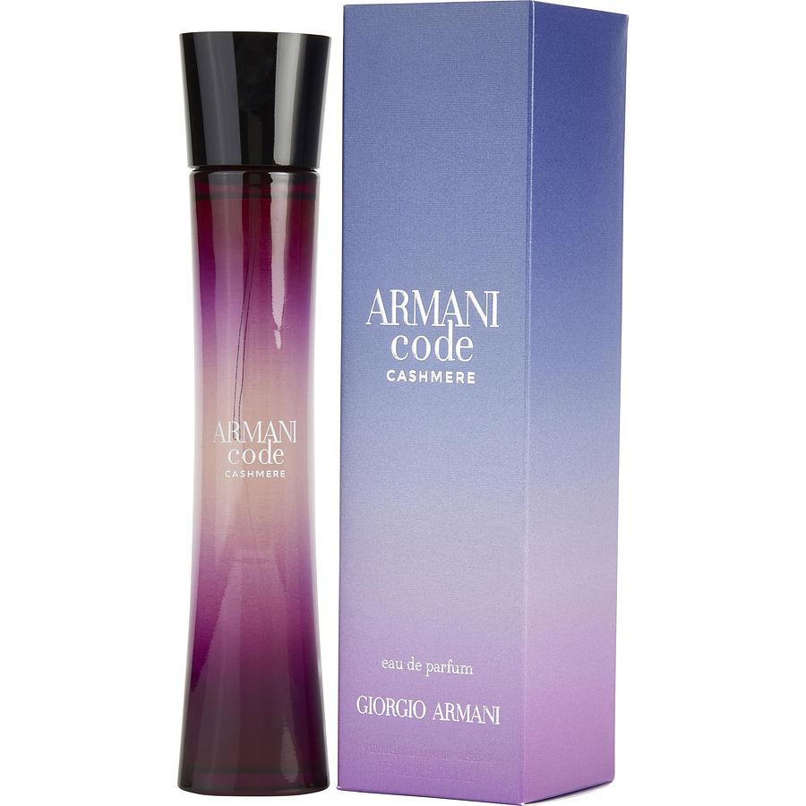 söpö Yhdistynyt kuningaskunta aina suosittu Armani Code Cashmere Eau De Parfum Spray 2.5 oz